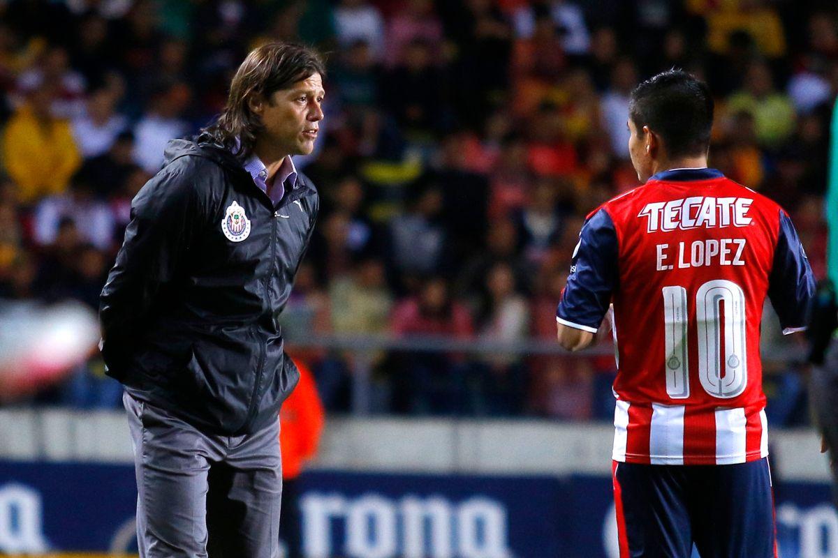 Almeyda, DT de Chivas, ha dado su confianza al joven Chofis López.