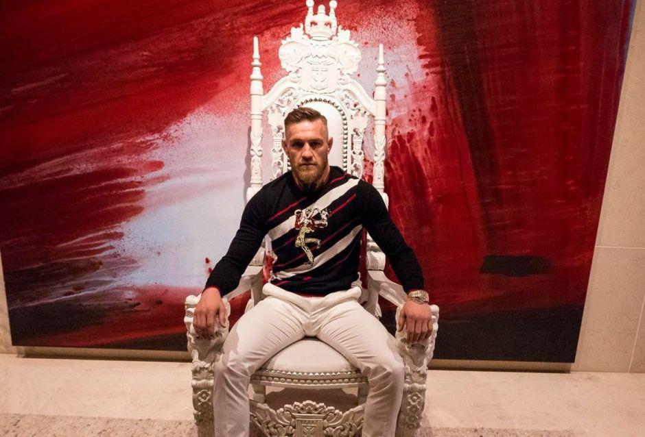 Conor McGregor quiere volarle la cabeza a Mayweather de un golpe