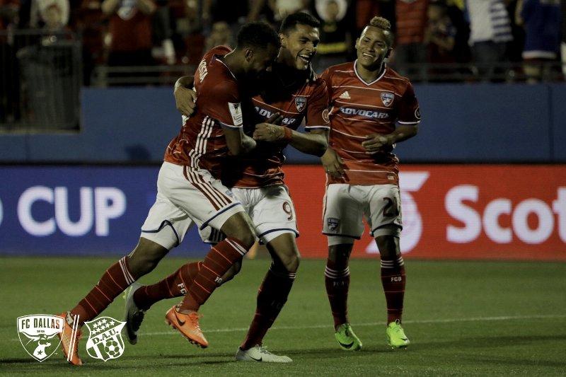 FC Dallas golea y pone un pie en las semifinales de Concachampions
