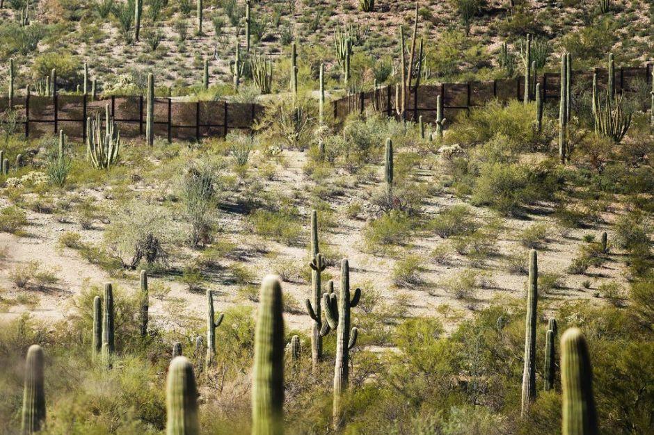 Empresas hispanas compiten por contratos del gobierno para hacer el muro en la frontera