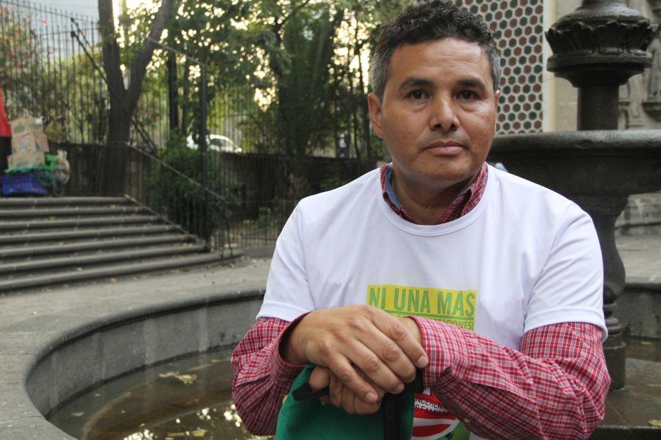 Eleazar Hernández, deportado de Wisconsin.