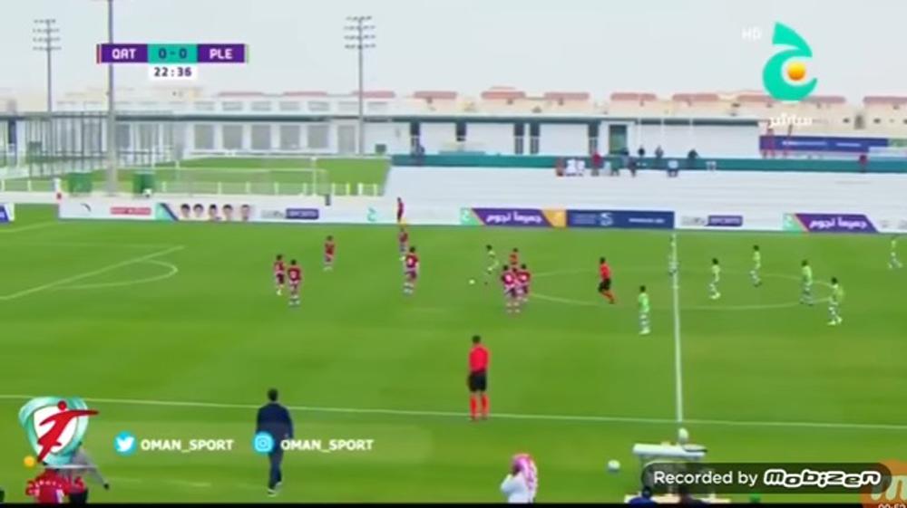 Las selecciones juveniles de Qatar y Palestina se enfrentaron en un duelo amistoso.