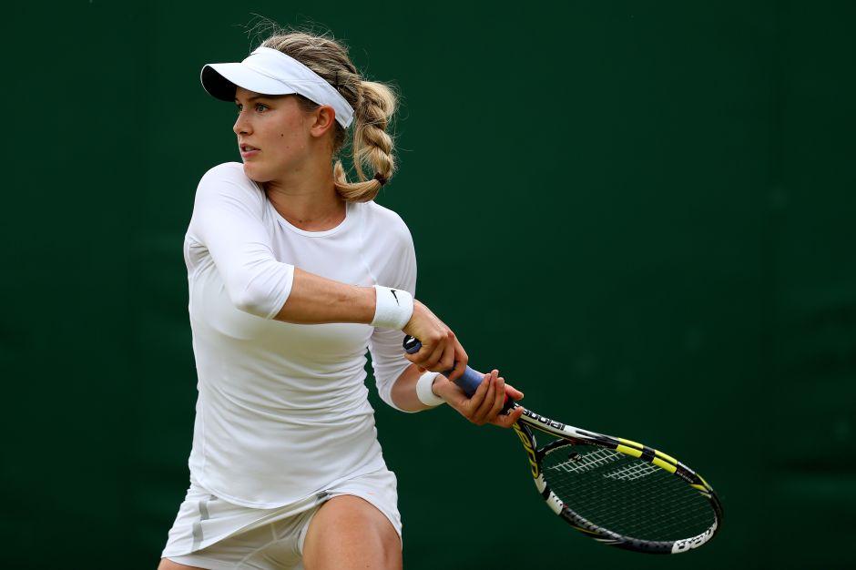La tenista Eugenie Bouchard está en busca de novio y acepta salir con un fan