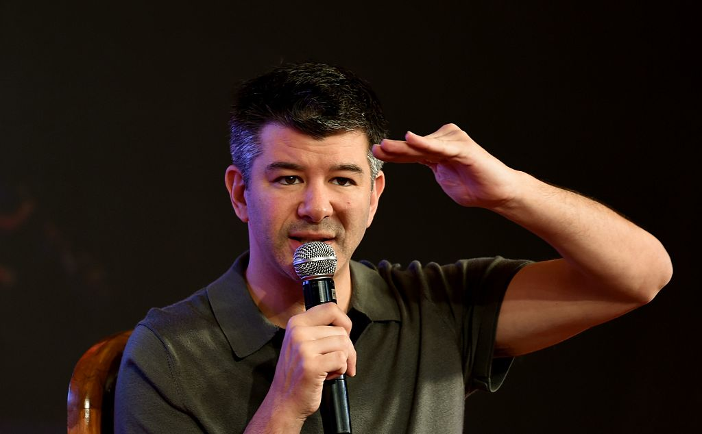 Travis Kalanick, presidente de Uber. MONEY SHARMA/AFP/Getty Images)