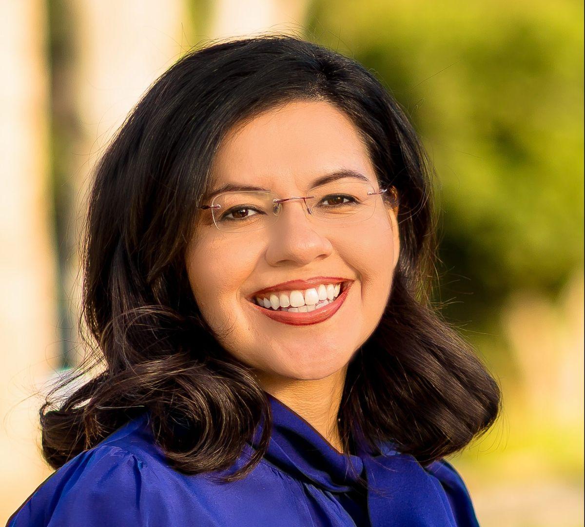 Vanessa Aramayo, candidata por el distrito 34 de California para el Congreso de EEUU.