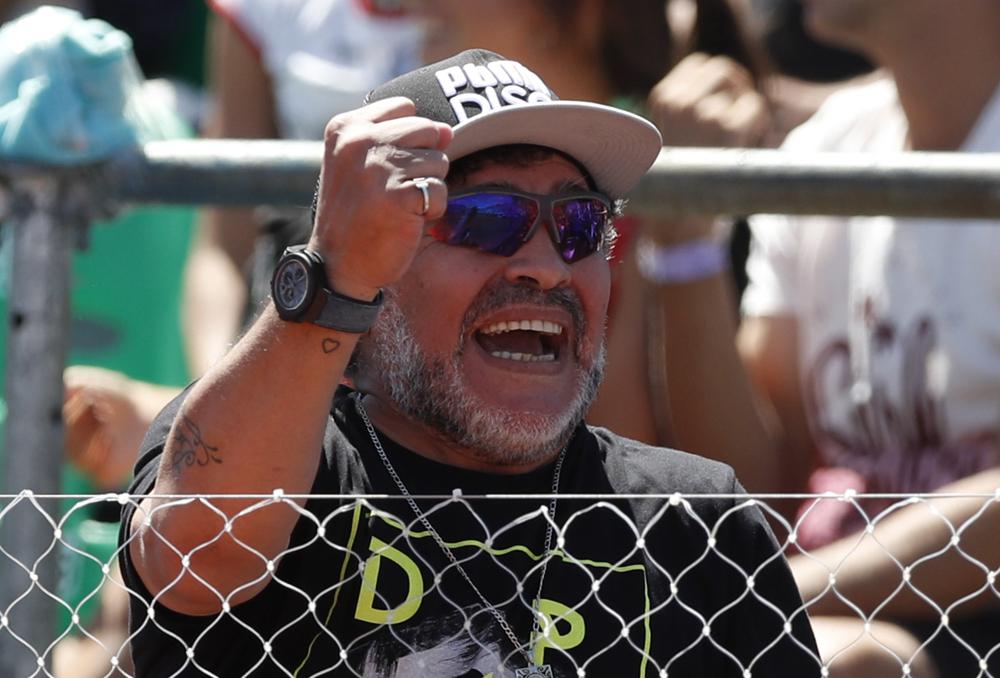 Diego Maradona se conviertió en febrero en el nuevo embajador de la FIFA.