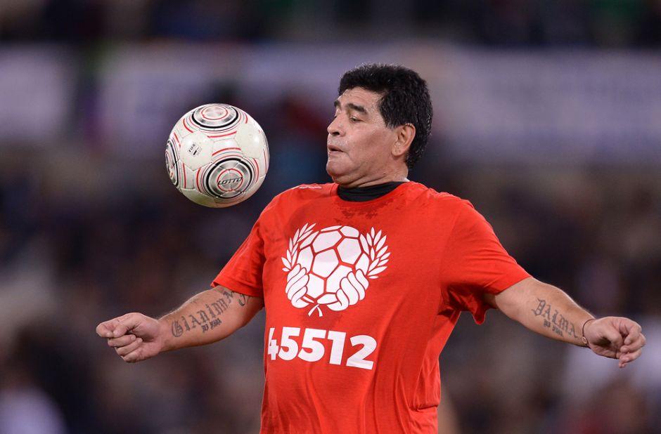 Maradona publica en Facebook un video con sus mejores asistencias ¡Magia pura!
