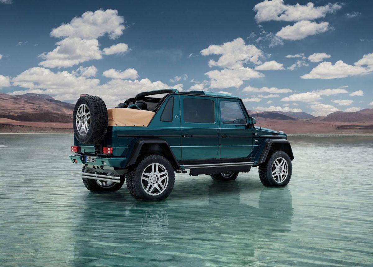 5 curiosidades del Mercedes-Maybach G650 Landaulet
