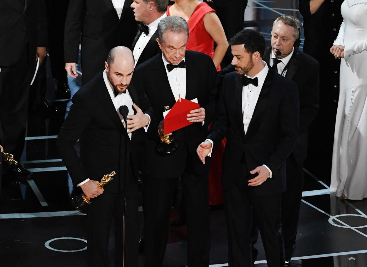 """El error que le costó el gane a """"La La Land"""""""