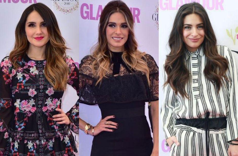 Fotos: Famosos en alfombra roja de Premios Belleza Glamour 2017