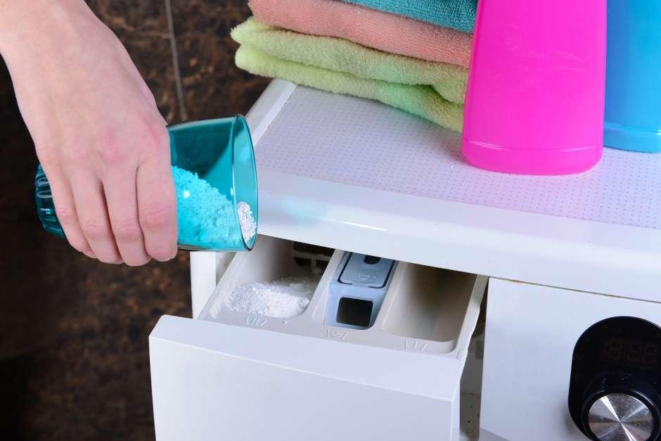En cada lavado usa siempre la cantidad de detergente exacta.
