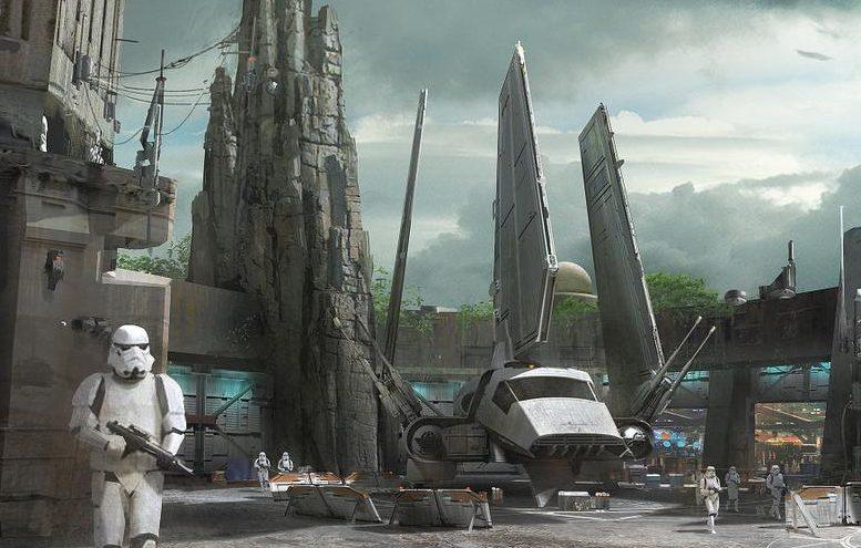 La nueva sección dedicada enteramente a Star Wars abrirá sus puertas en 2019 en Disneyland.