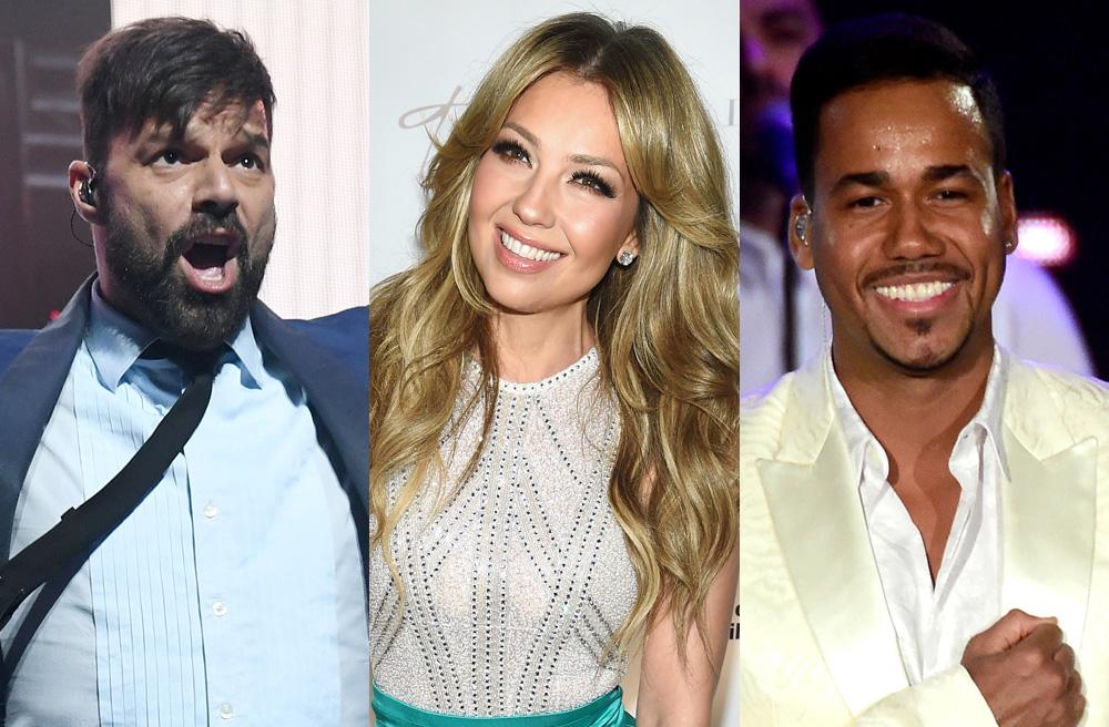 Ricky Martin, Thalía, y Romeo Santos son algunos de los famosos que se presentarán en Premio Lo Nuestro 2017