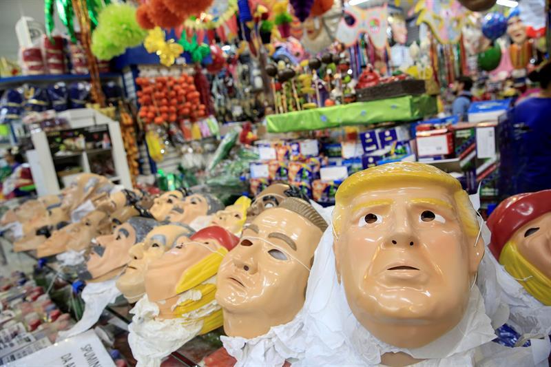 Fotos: Trump se cuela en el carnaval brasileño