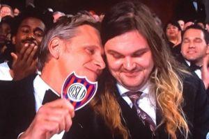 Viggo Mortensen exhibió su amor por San Lorenzo en los Oscares