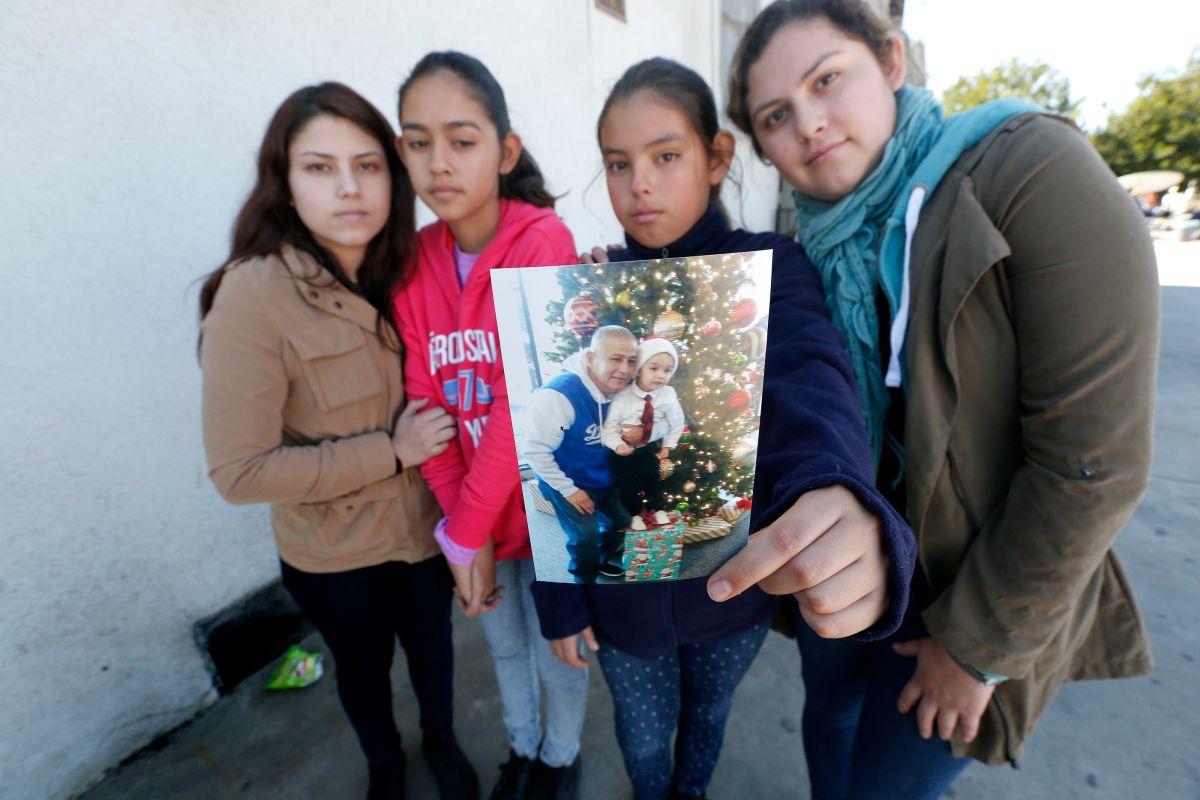 Padre detenido por migración saldrá libre con fianza