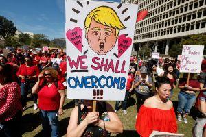 """Mujeres y """"aliados"""" llamados a protestar en el primer aniversario de Trump"""