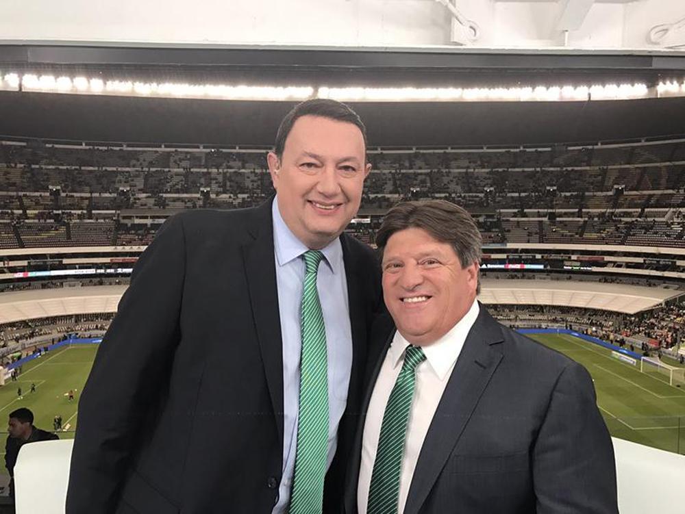"""""""Piojo"""" Herrera ¿más cerca del América? Estuvo con Televisa en el juego del Tri"""