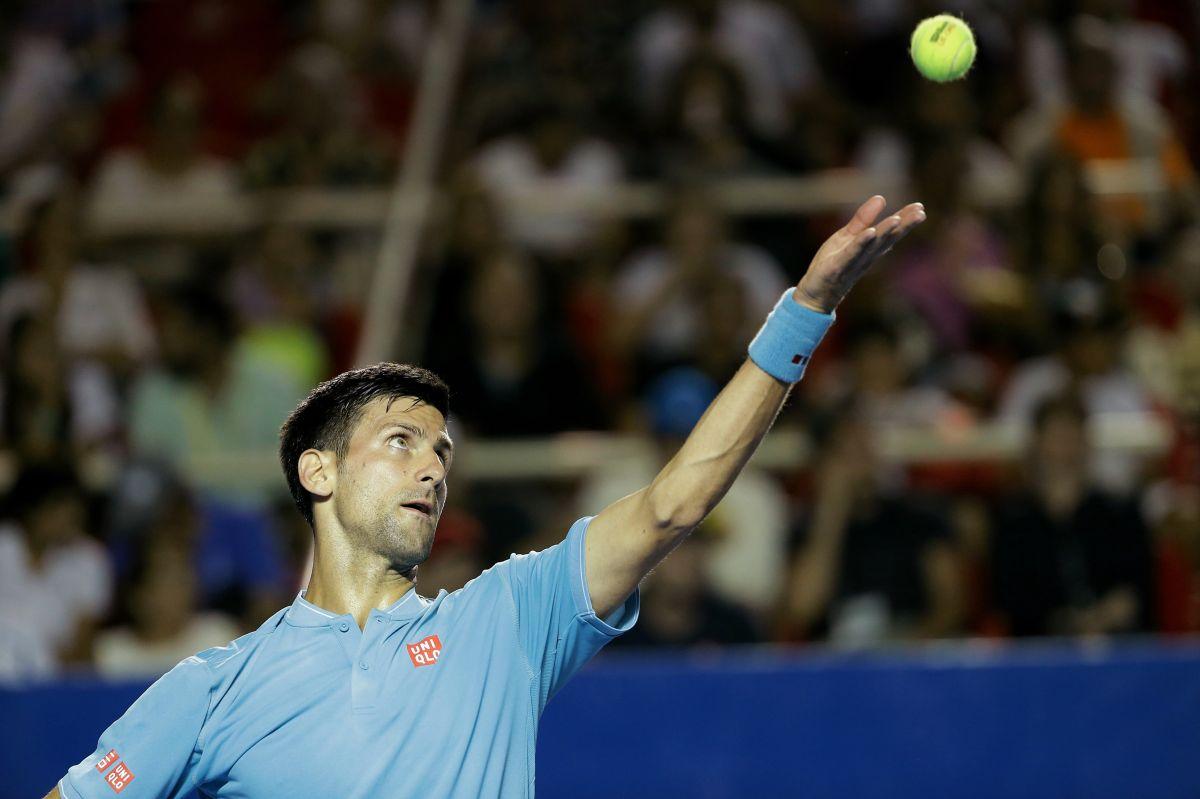 Video: Así se le entrega la afición de México a Novak Djokovic en Acapulco