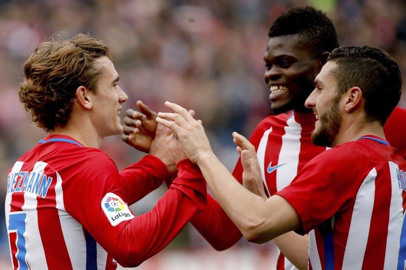 Atlético de Madrid sigue en la pelea por el campeonato del fútbol español.
