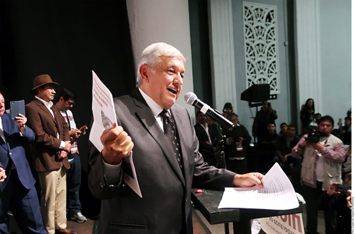 López Obrador abre oficina para migrantes en Tijuana