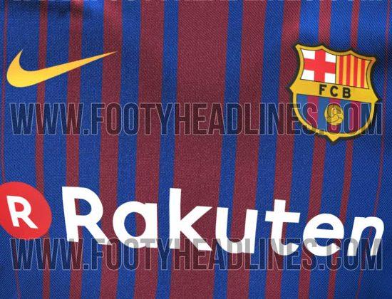 Filtran posible jersey del Barcelona para la siguiente temporada