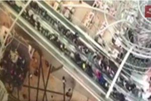 Escalera eléctrica se sale de control en Hong Kong y causa 18 heridos