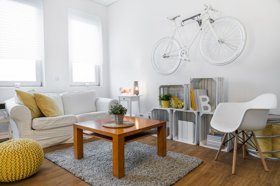 Muebles perfectos para apartamentos pequeños