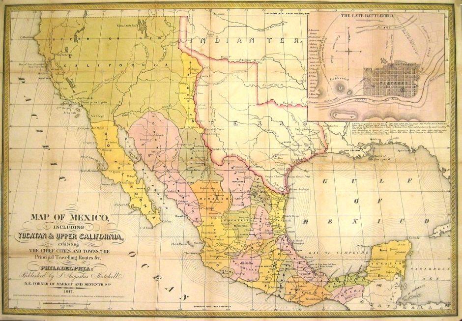 En 1848 EEUU consiguió terreno mexicano; ahora México lo quiere de regreso