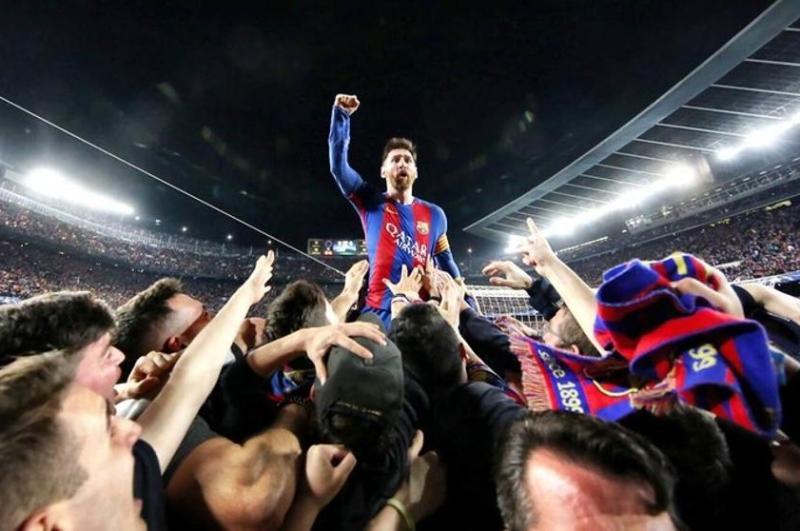 Video: La historia detrás de la que quizás sea la mejor foto de Messi con el Barcelona