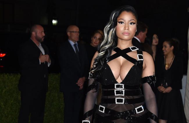 Video: Nicki Minaj hizo historia en la música y lo festejó bailando twerking