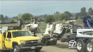 Muere conductor que trasladaba cemento para reparar represa de Oroville