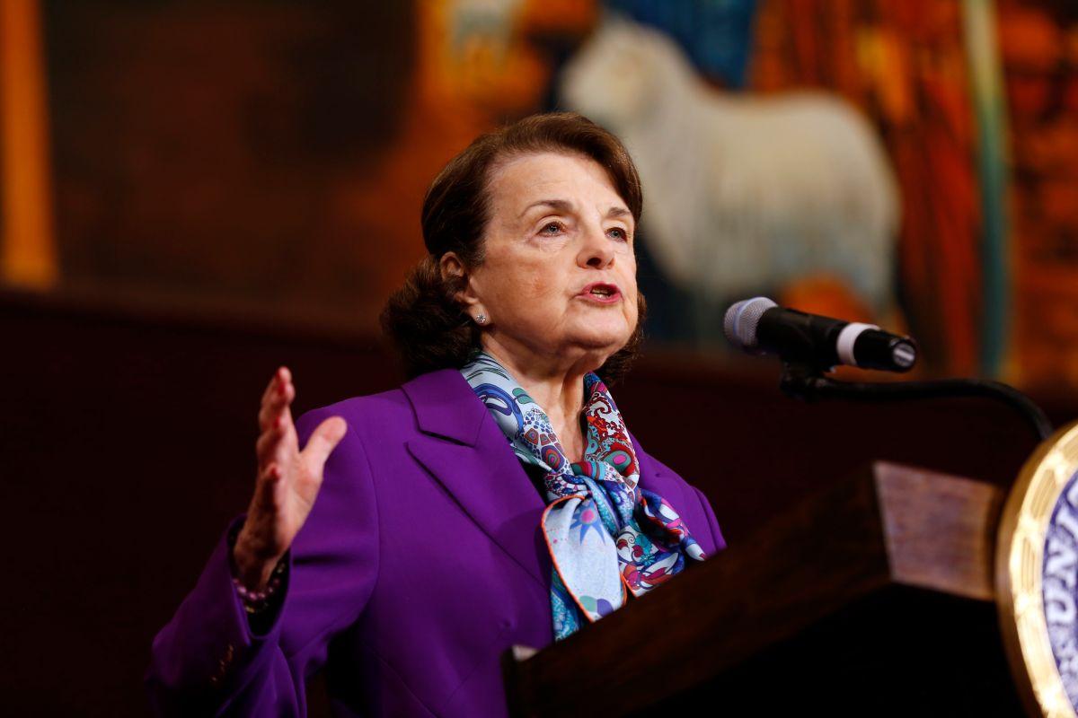 Dianne Feinstein ha estado en el cargo de senadora de California desde 1992. / Fotos: Aurelia Ventura.