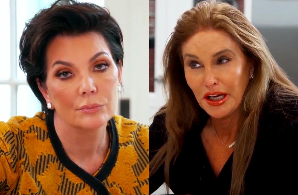 Caitlyn Jenner y Kris Jenner vuelven a estar enemistadas