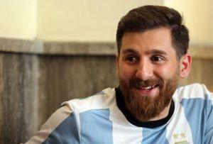 El doble iraní de Lionel Messi es víctima de las 'fake news'
