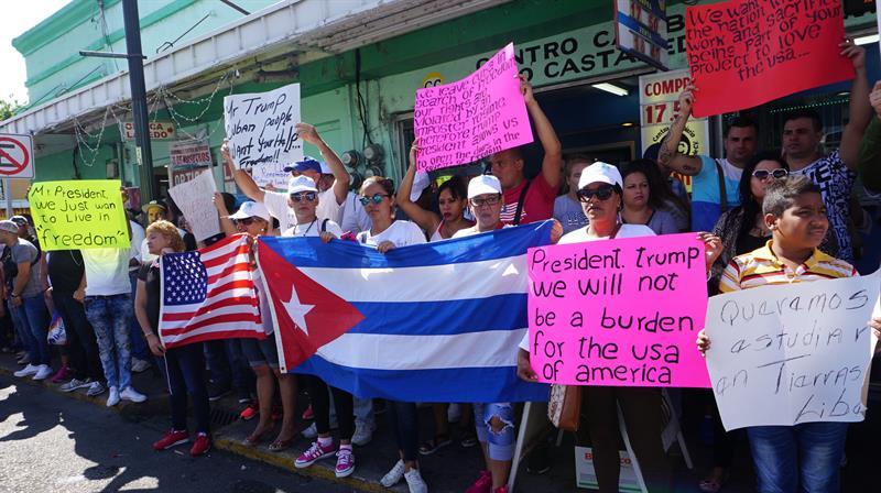 No quieren afectar las relaciones diplomáticas restablecidas con Cuba.