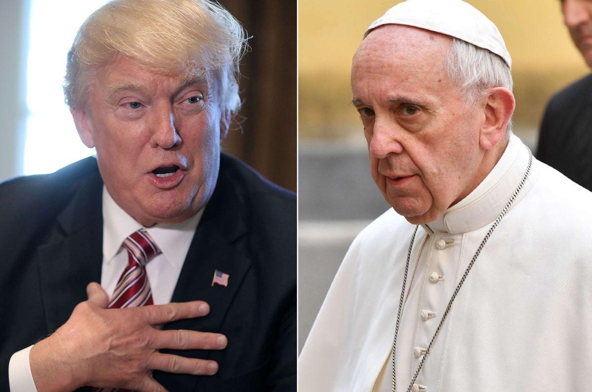 VIDEO: El papa Francisco recibirá a Donald Trump en mayo