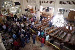 Video: Doble atentado contra iglesias en Egipto deja al menos 33 muertos