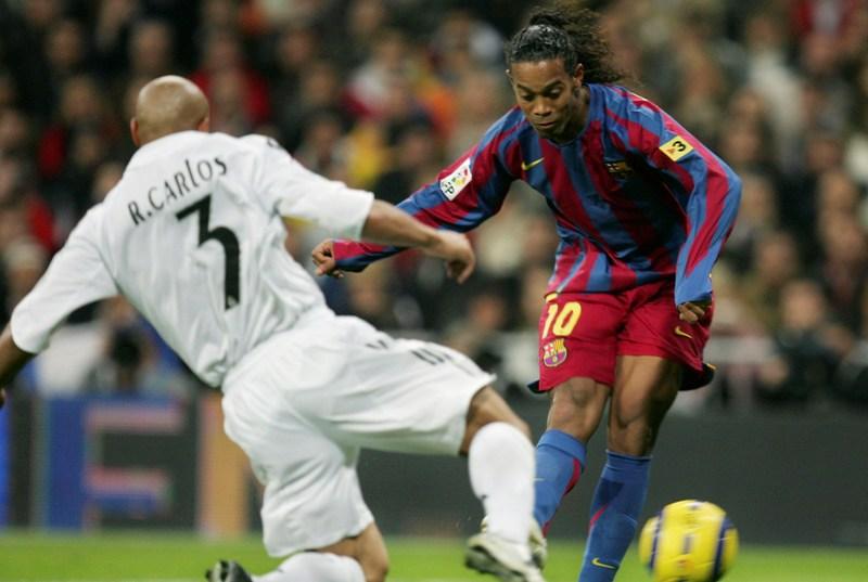 La mejor época de Ronaldinho con el Barcelona.