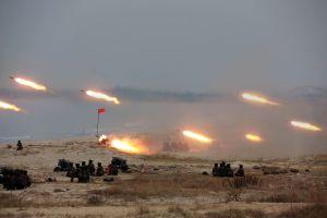 Video: Así fue el poderoso ejercicio de artillería de Corea del Norte
