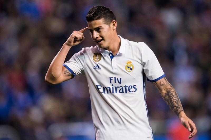 James Rodríguez se va muy agradecido del Real Madrid