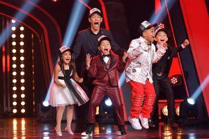 Johnny Lozada y su equipo de niños ganan 'Pequeños Gigantes USA'