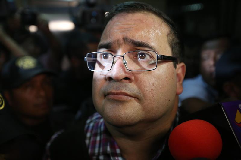Javier Duarte, exgobernador  de Veracruz es condenado a nueve años de prisión