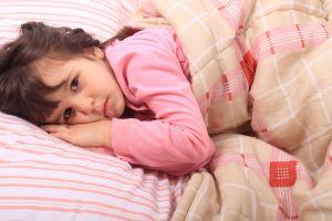 Los problemas también le quitan el sueño a los niños