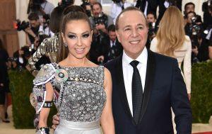 Thalía revela en Instagram detalles del vestido que llevará a la gala del Met