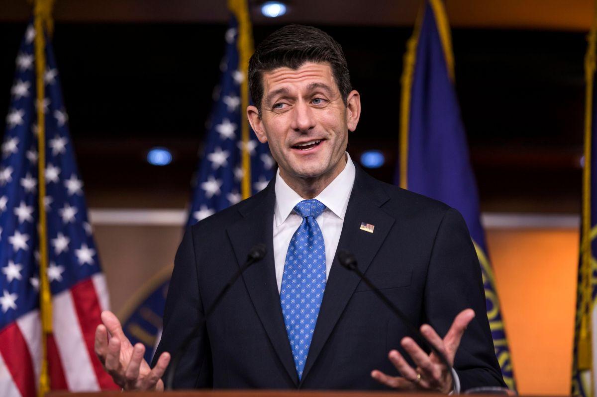 Salida de Ryan del Congreso aumenta nerviosismo en filas republicanas