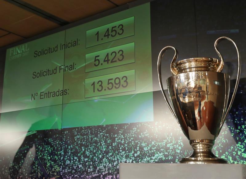 Cardiff obtendrá millonaria ganancia con la final de la Champions League