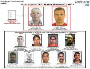 EEUU incluye al cártel de Ruelas Torres en su lista negra de narcotraficantes