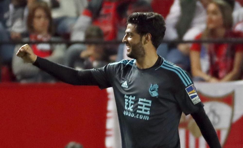 ¿El último gol de Carlos Vela con la Real Sociedad?