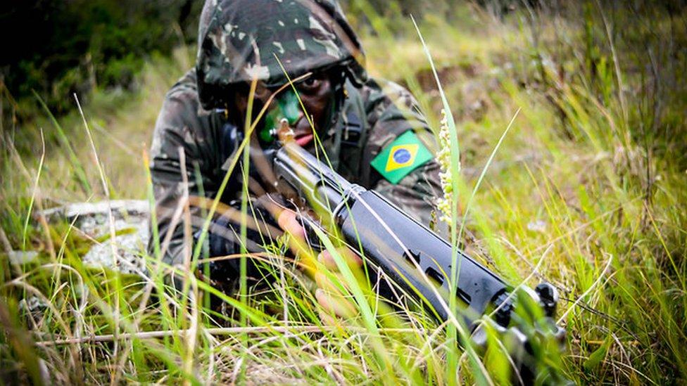 """Los ejercicios militares """"inéditos"""" de Brasil, Colombia, Perú y EEUU en la Amazonía"""